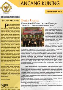 Edisi 1 Tahun 2018